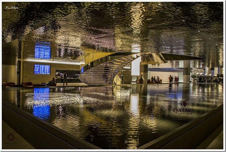 Refined Modern Airport – Hamad International