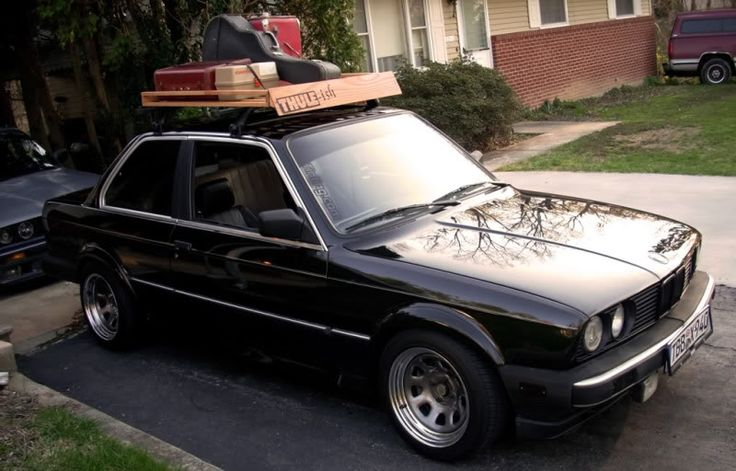 Wooden roof rack w/ sides