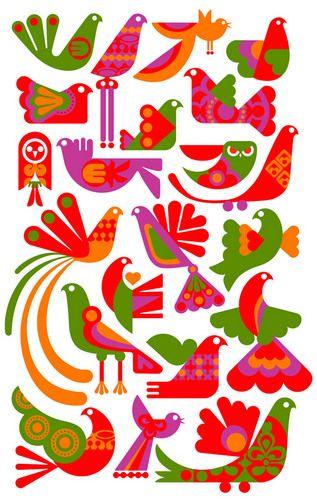 paradise birds by sanna annukka