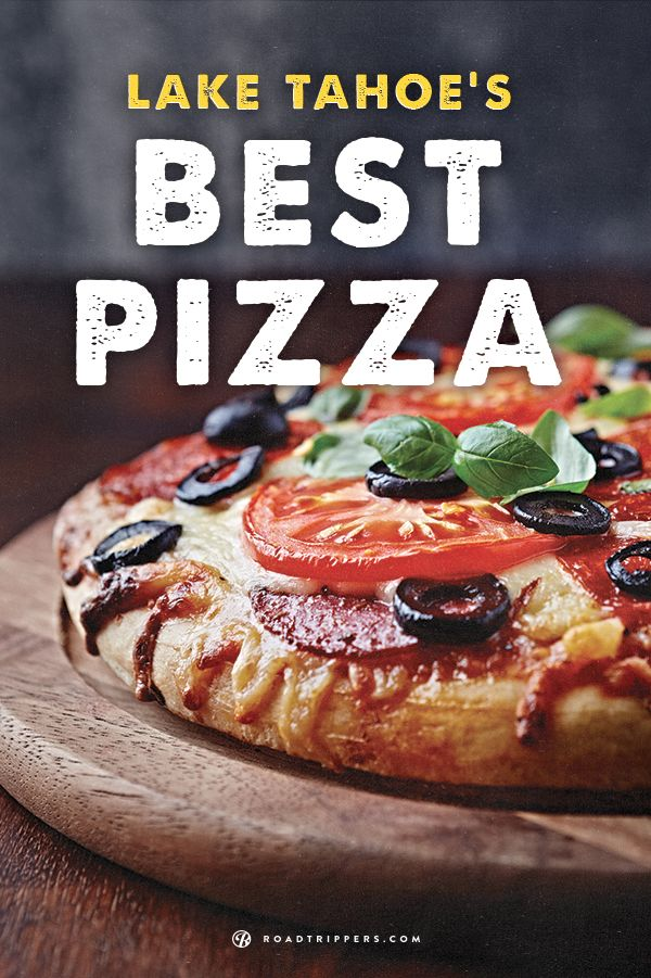 Lake Tahoe has some incredible pizza joints, so after you spend the day on the water fill yourself up with one of the greatest foods!