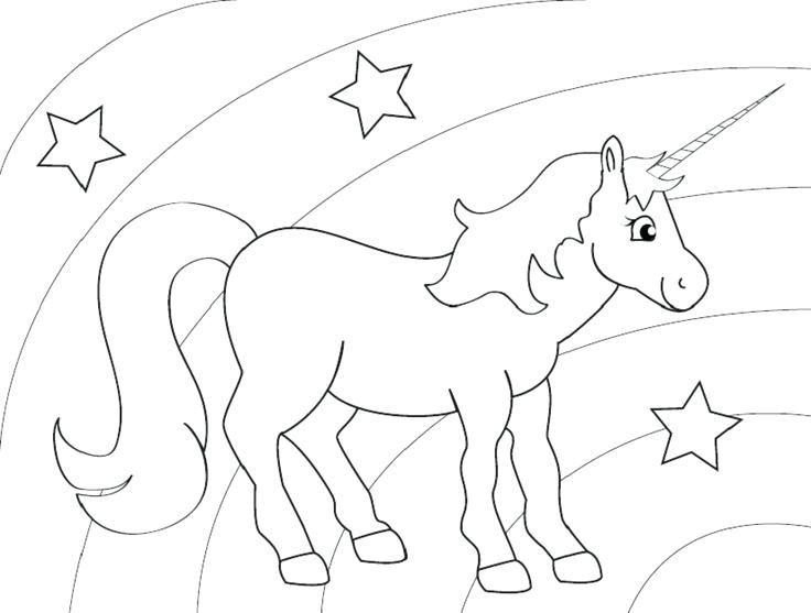 Unicorn Rainbow Coloring Pages Unicorn Coloring Pages Birthday Coloring Pages Unicorn Drawing