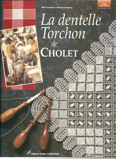 La Dentelle Torchon de Cholet-1 -patterns and techniques