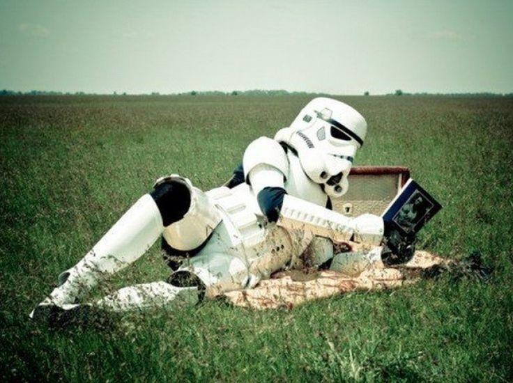 La vie secrète des Stormtroopers... #StarWars