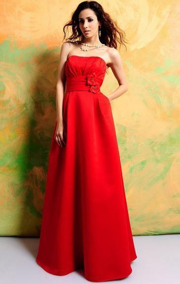 Online Red Bridesmaid Dress BNNAD1092 http://goo.gl/i3OjkL