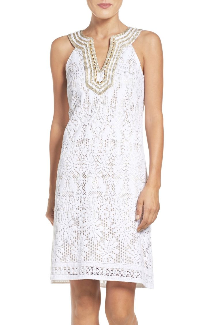Lilly Pulitzer® Calera Lace Shift Dress available at #Nordstrom