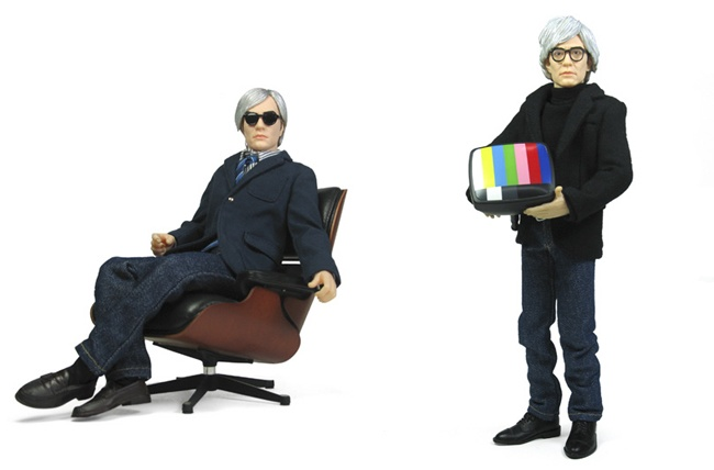 Andy Warhol action figures