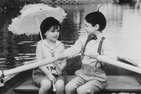 """Dear Darla, I hate your stinking guts. You make me vomit. You're scum between my toes! Love, Alfalfa"" <3"