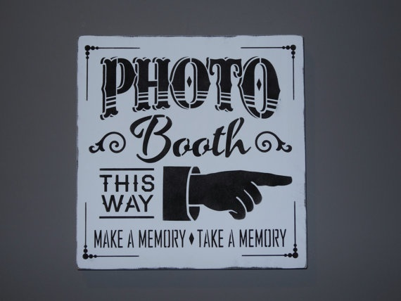 Wedding Photo Booth Rustic Barn Country Sign Decoration by erinjt, $30.00