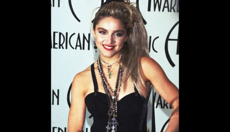 Madonna lost her mother to breast cancer when she was five years old.