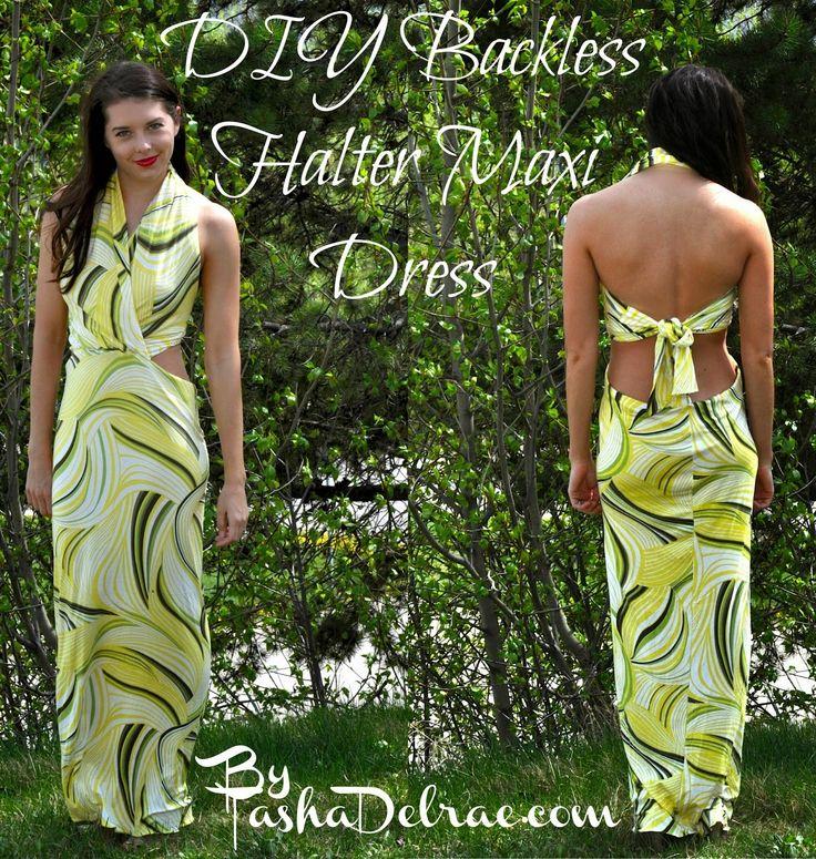 75 besten DIY Sew-Näh-Dresses-Maxi-Kleider Bilder auf Pinterest ...