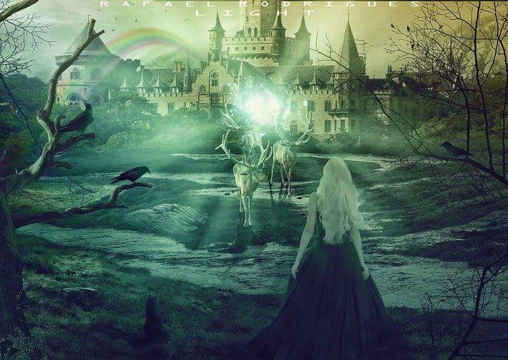 Imagem criada pensando em um poster de filme