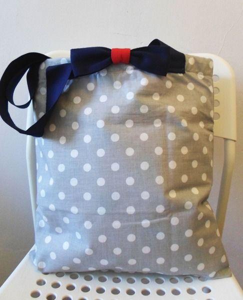 Lunch Bag Szaraczek w zaradna na DaWanda.com