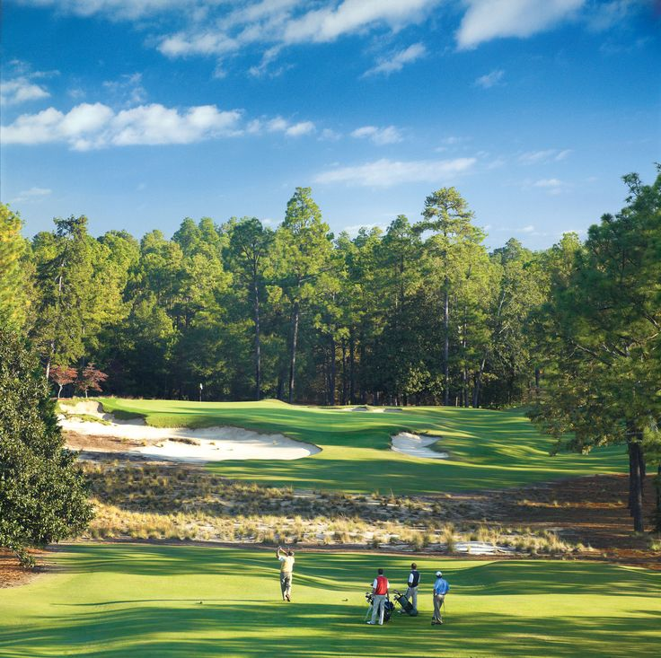 Pinehurst No.2- one of the golf courses on the PGA's Most Beautiful Golf Course List.
