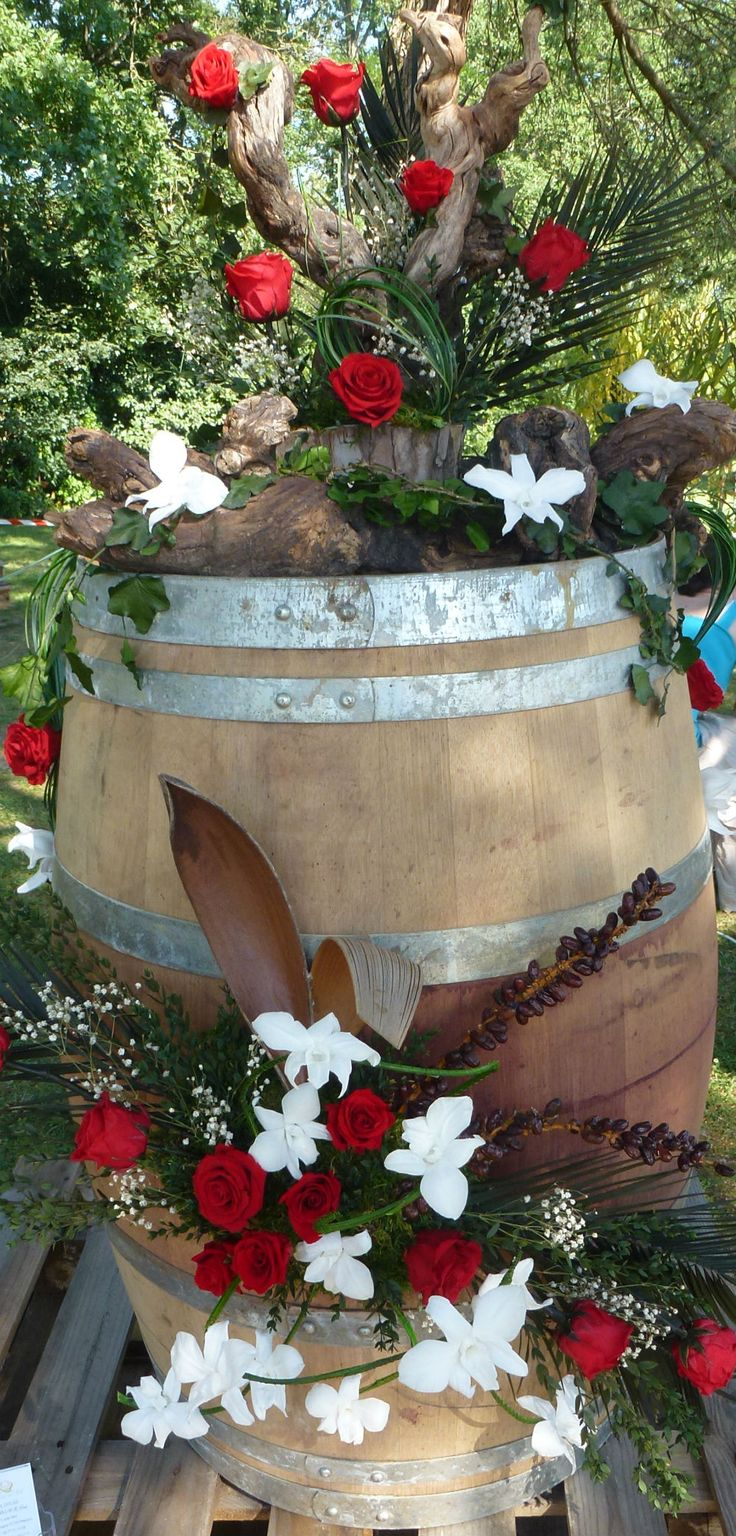 décoration de barrique