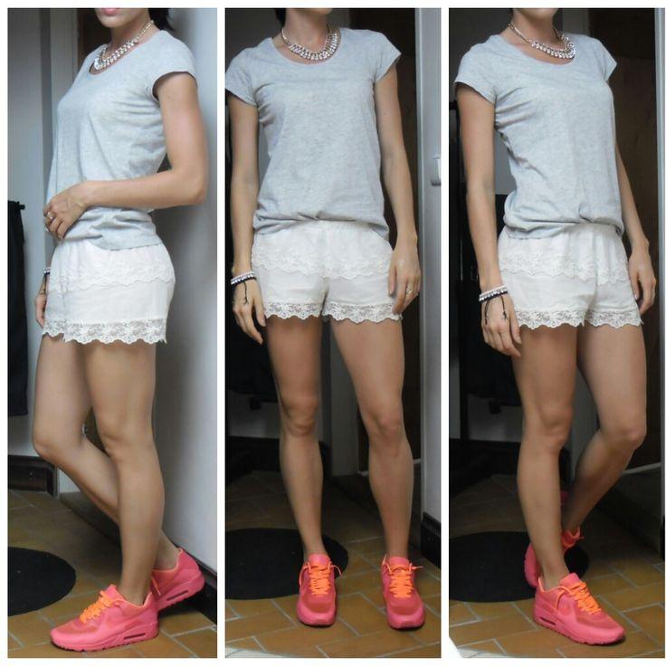 Lace Short, Neon AirMax