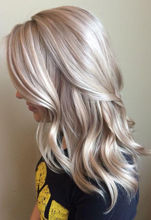 светло-пепельный блонд