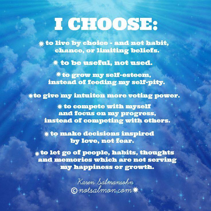 Words of wisdom from Karen Salmansohn