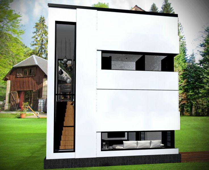 24 best maison bois images on Pinterest Architecture, Arquitetura - agrandissement maison bois prix m