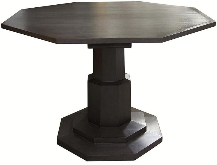 Noir Octagon Table Pale