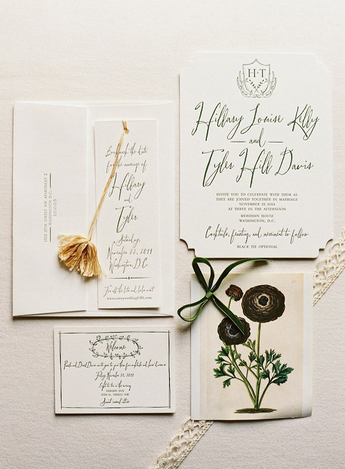 modern elegant wedding invitation 845 best Stationery