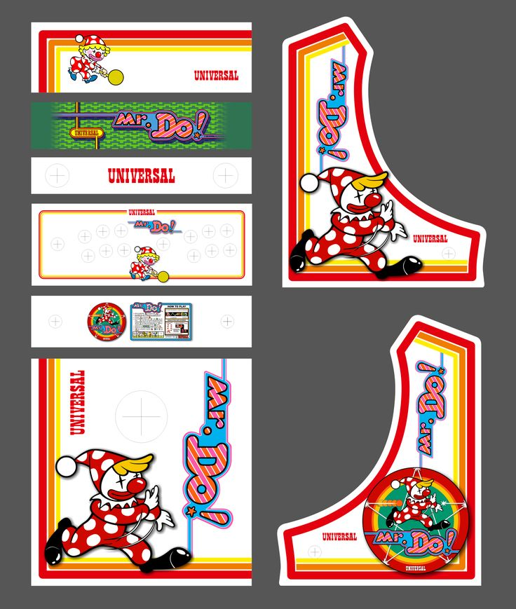 63 best Bartop Arcade Designs images on Pinterest | Arcade ...