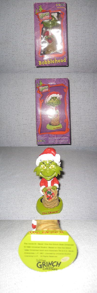 Dr Seuss 20906: Dr. Seuss How The Grinch Stole Christmas Bobblehead Toysite -> BUY IT NOW ONLY: $36.99 on eBay!