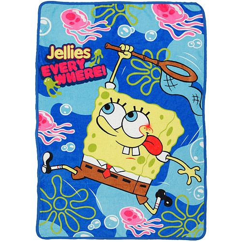 Walmart SpongeBob SquarePants Plush Blanket Plush