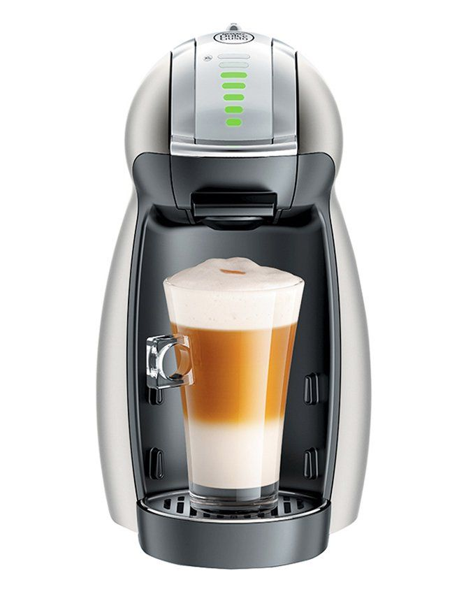 Nescafe dolce gusto genio. is ideal for coffee lovers who are big on taste, but short on space. Use the scroll wheel to customize a robust Caffè Americano or delicious vevelty Chococino. No matter what you choose, you know it's going to be brewed to perfection. http://www.zocko.com/z/JErca