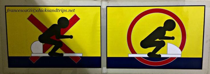Spiegazioni essenziali per l'utilizzo di un bagno giapponese http://www.chicksandtrips.net/wc-in-giappone/
