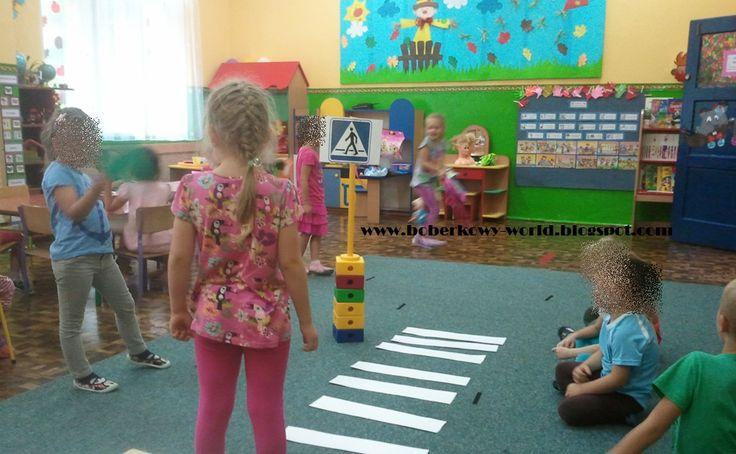 Boberkowy World : Bezpieczny przedszkolak- materiały do zajęć