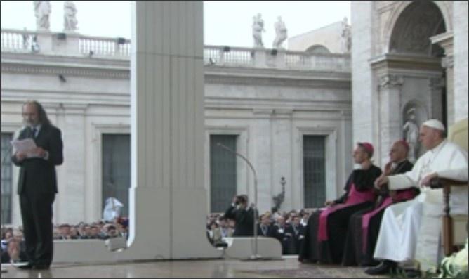 18/05/2013 : Veillée de la Pentecôte avec les nouveaux mouvements ecclésiaux