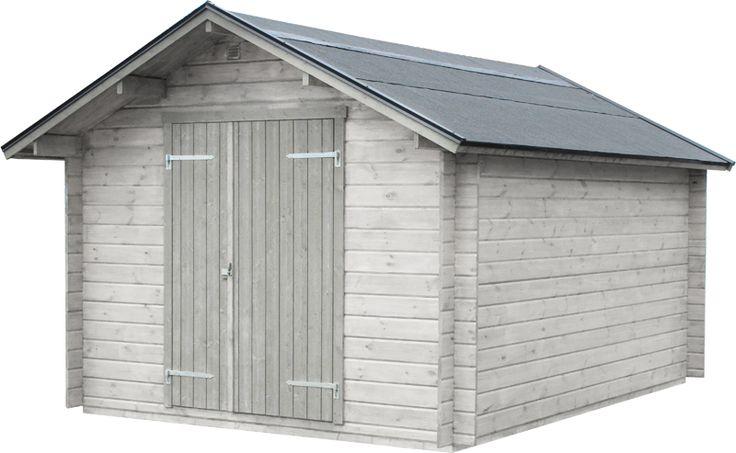 Förråd Assarp 12,3 Rymligt, knuttimrat förråd. Önskas en isolerad dörr med nyckellås rekommenderar vi att du köper till en 13x19 dörr. Golvsats finns som tillval.