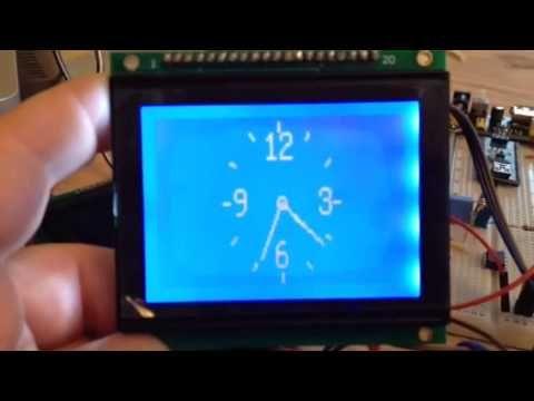 Arduino LCD clock