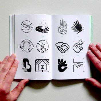 Human Logo: Trademarks & Symbols | by Counter-Print