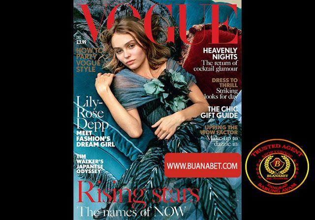 Saran Gaya Masa Kini: Gadis Sampul Vogue edisi Desember.