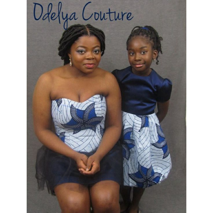 Modèle pour femme et petite fille dans le même pagne!  #odelyacouture #pagne #liputa #africanfabric #bustier #robe #childfashion #childwear #kidswear #littlegirl #modeenfant #couture #creation #paris #fashion #mode #handmade #creation #frenchdesigner #stylisme #styliste  #modelisme #modeliste