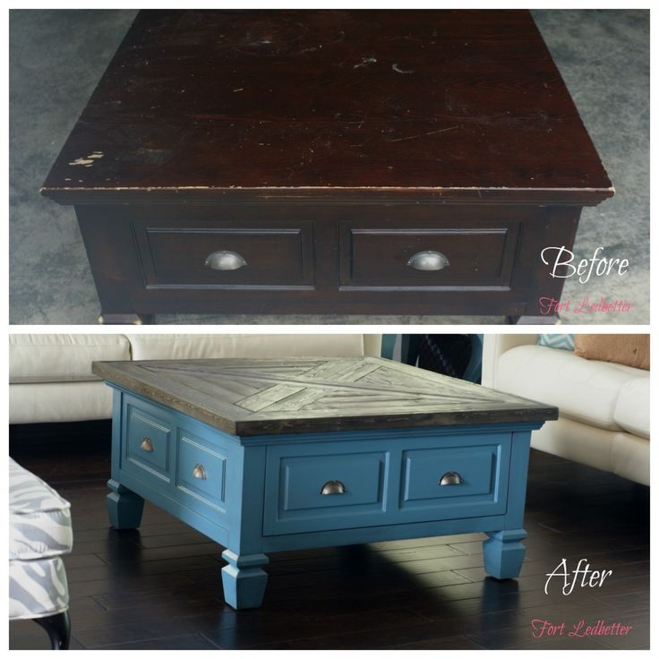 coffe table, furniture makeover, DIY