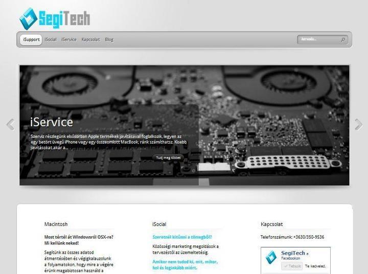Nézd meg honlapunkat közelebbről, böngéssz rajta, olvasd el cikkeinket ....    http://segitech.info/
