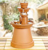 Clay Pot Fountain