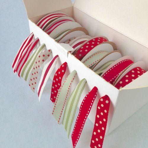 ribbon storage craft tutorial www.janemeansblog.com