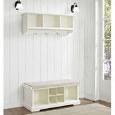 Found it at Wayfair - Brennan 2 Piece Entryway Bench and Shelf Set