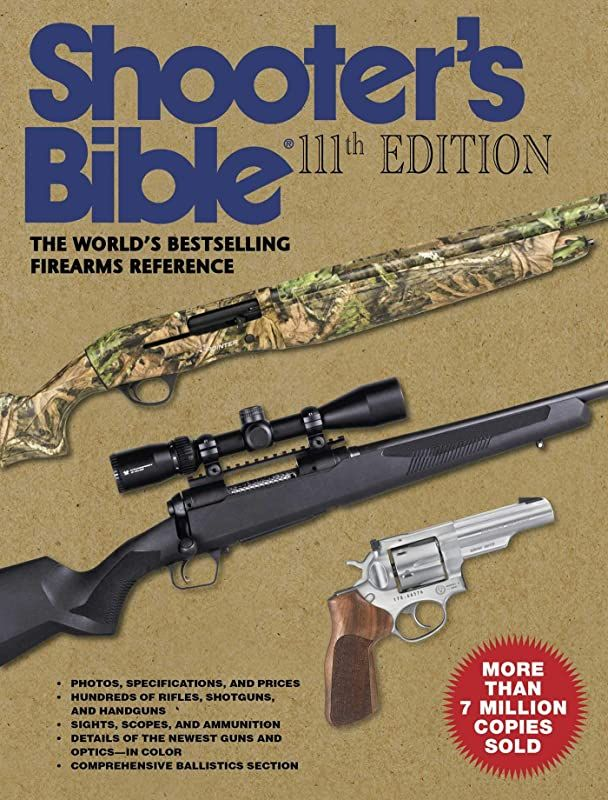 Pdf Free Shooter S Bible 111th Edition The World S Bestselling Firearms Reference 2019 2020 By