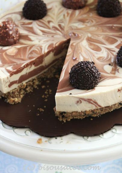 No Bake Baileys Cheesecake - Very good with the most outstanding crust you will ever try...