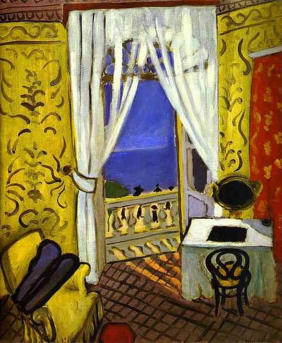 Matisse, Henri (1869-1954) - 1918-19 Interior with a Violin Case, The Museum of Modern Arts (MOMA)
