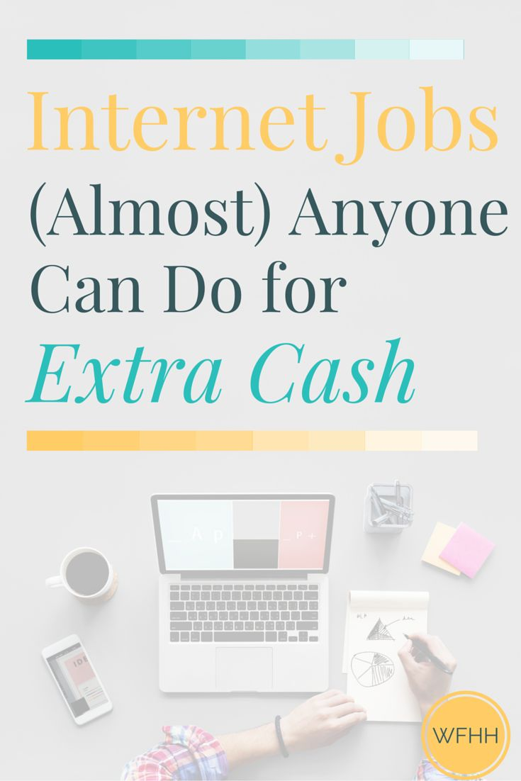 You don't need a ton of experience or special skills to earn money online. With these internet jobs that (almost) anyone can do, it's never been simpler to add extra income to your earnings each month. Click through to find out where you can find work and how you can start making more money online!