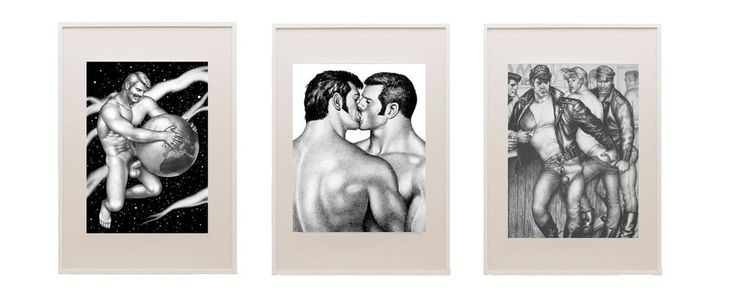 TomfinLand, Gay Artist Laakson: Wall Gallery Framed,  20 3/4 x 28 3/4 inches