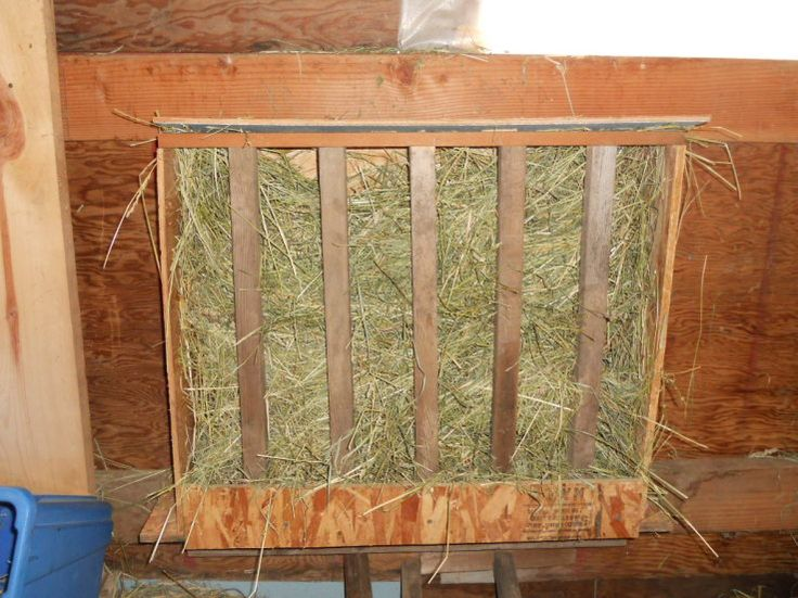 Horse Hay Feeder Made From Pallets This Started Out With