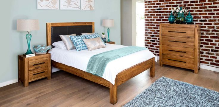 The Bexley Bed. Optional under-bed storage drawer and pedestals.