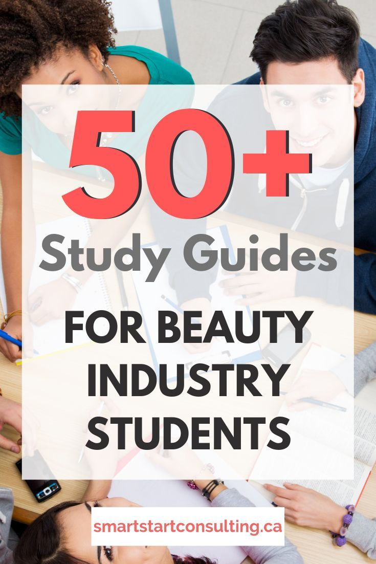 List Of 50 Study Guides For Beauty Professionals Smart Start Consulting Beauty Business Study Guide Spa Business