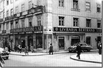 Bertrand bookshop in Chiado - the oldest bookshop in the world which is still open